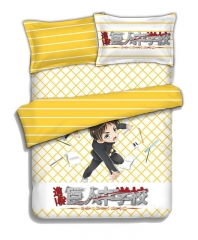 Attack on Titan - 4pcs Anime Bedding Set & Bed Sheet