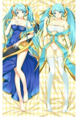 LOL League of Legends - Sona Buvelle Girlfriend Body Pillow