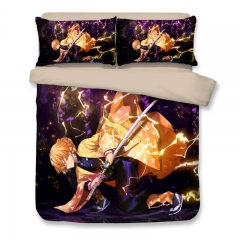 Demon Slayer - Zenitsu Agatsuma Anime Bedding Sets