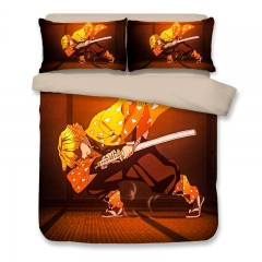 Demon Slayer - Zenitsu Agatsuma Anime Bedding Set